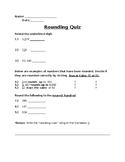 Quiz-Rounding