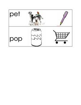 Quiz- Short e and short o words