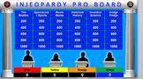 Quiz Show Pro Jeopardy Game
