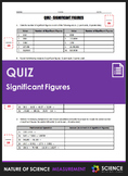 Quiz - Significant Figures or Significant Digits