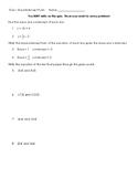 Quiz - Slope-Intercept Form