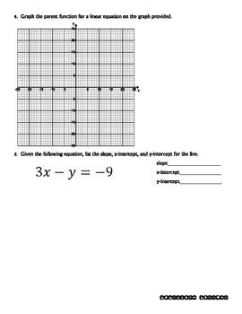 Quiz - Standard Form of a Line - PP