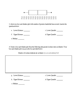 Quiz: Stem and Leaf Plots & Box and Whisker Plots (With Study Guide)