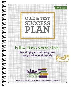 Quiz & Test Success Plan