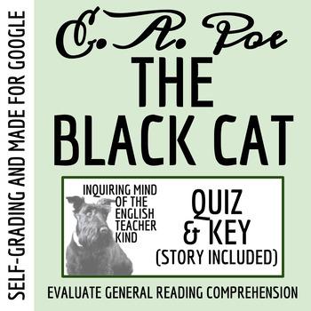"""The Black Cat"" by Edgar Allan Poe - Quiz (Common Core Aligned)"