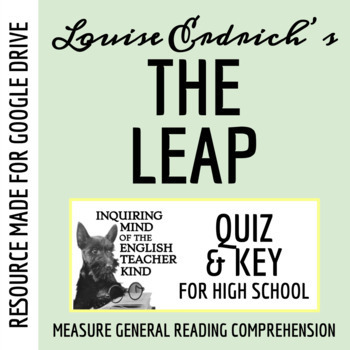 louise erdrich the leap questions And find homework help for other the leap questions at enotes  the narrator,  of louise erdrich's the leap, states that she owes her mother her life for three.