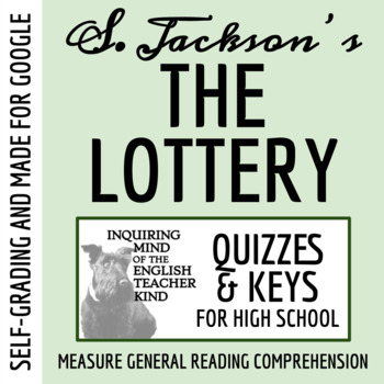 """""""The Lottery"""" by Shirley Jackson - Quiz"""
