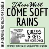 """There Will Come Soft Rains"" by Ray Bradbury - Quiz & Key"