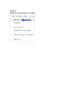 Quiz Using Google Forms - No GRADING REQUIRED (Direction Access)