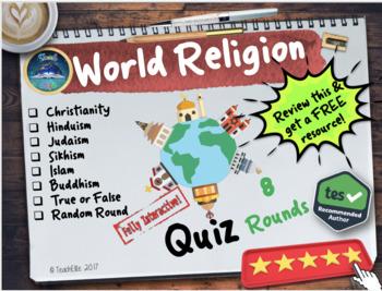 Quiz: World Religion Quiz