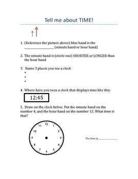 Quiz about time