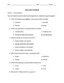 Quiz: book/tourism vocab/reflexives