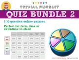 Quiz bundle #2: 5 Trivial Pursuit-style quizzes
