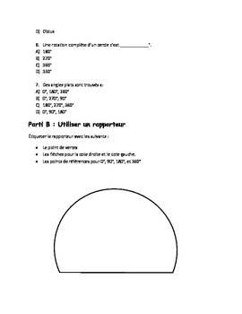 Quiz de Mathé: Les angles et le périmètre des formes 2D