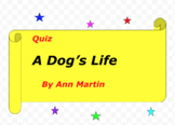 Quiz for A Dog's Life by Ann Martin