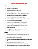 Quiz for American Imperialism Power Point