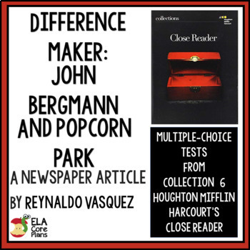 """Quiz for """"Difference Maker: John Bergmann and PopCorn Park"""" in Close Reader"""