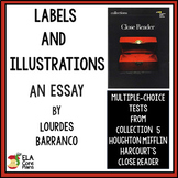"""Quiz for Essay """"Labels and Illusions"""" in 7th Grade Collections Close Reader"""