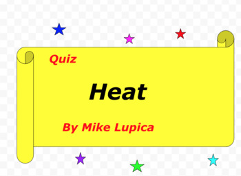 Quiz for Heat by Mike Lupica