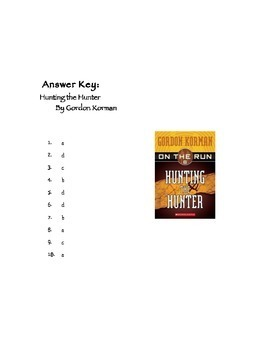 Quiz for Hunting the Hunter by Gordon Korman