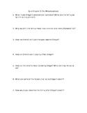 Quiz for Kafka's The Metamorphosis Chapter 3