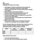 Quiz for Middle Ages Notes and Canterbury Tales Prologue