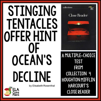 "Quiz for Newspaper Article ""Stinging Tentacles Offer Hint of Ocean's Decline"""