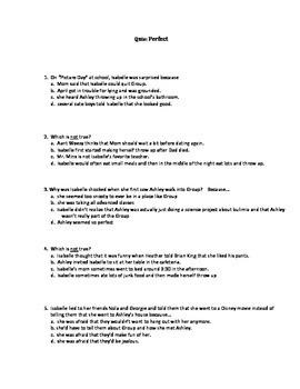 Quiz for Perfect by Natasha Friend