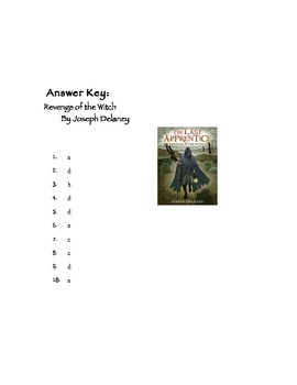 Quiz for Revenge of the Witch by Joseph Delaney