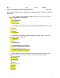 Quiz for Thomas C. Foster's HOW TO READ LITERATURE LIKE A PROFESSOR (Revised Ed)