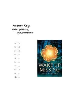 Quiz for Wake Up Missing By Kate Messner