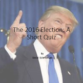 Quiz on 2016 Presidential Election