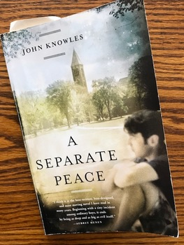 Quiz on Chapters 9-10 of John Knowles' A Separate Peace