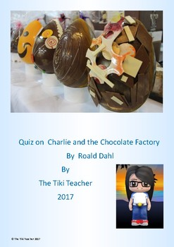 Quiz on Charlie and the Chocolate Factory by Roald Dahl.