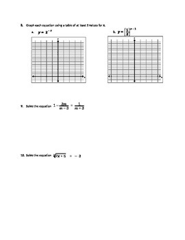Quiz on Exponents