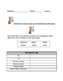 Quiz on Prepositional Phrases in Spanish (Descubre)