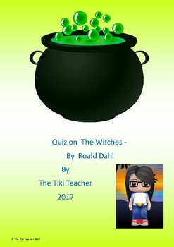 Quiz on The Witches by Roald Dahl