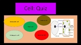 Quiz on animal, plant and bacterial cell