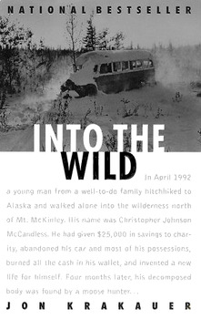 Quiz on chapters 6-10 of Jon Krakauer's Into the Wild