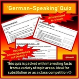 Quiz on some German speaking countries