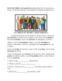 Quiz on the Family in Spanish (Descubre)