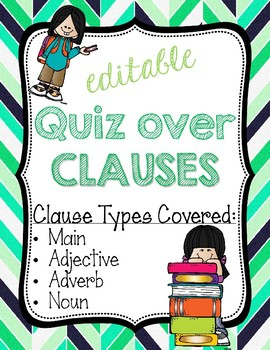 Quiz over Clauses