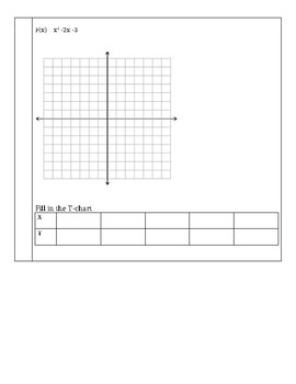Quiz- parabolas in standard form