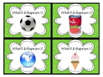 Quiz, quiz, trade with 3d shapes