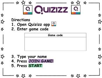 Quizizz Center Poster