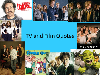 TV & Film quotes Quiz