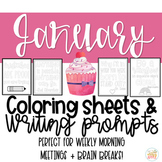 Quotable Coloring Sheets: January