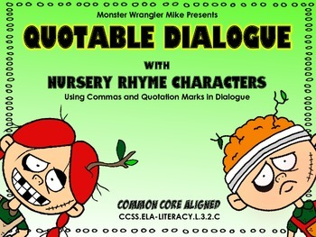 Quotable Dialogue: Using Commas and Quotations in Dialogue