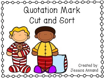 Quotation Mark Cut and Sort 2