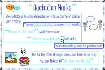 Quotation Mark Poster